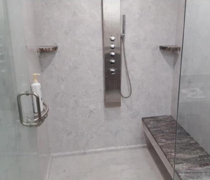 gray marble bathroom shower