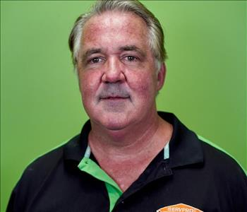 Man with Green Background