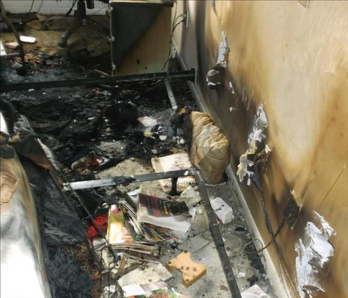 Fire Damage Fires can result in multiple types of clean up