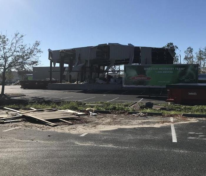 Commercial Rebuilding our SERVPRO home after Hurricane Michael